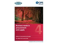 CIPS/Profex and Lysons & Farrington Level 4 full suite of course books (will also sell individually)