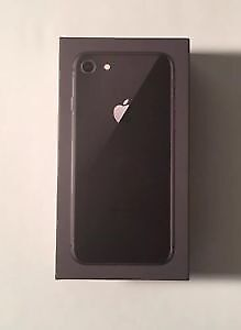 iPhone 8 64Gb Brand New in Box Unlocked With Reciept