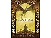 Game of Thrones Series 5 DVD. Watched once in VGC. Bought on Amazon and original receipt available.