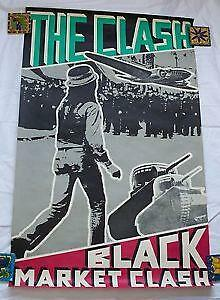 The Clash Original Poster Ebay