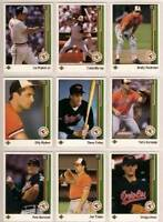 1988-91 Upper Deck Baseball Cards 600+ cards!!