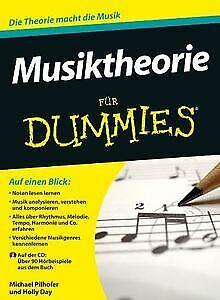 Musiktheorie für Dummies (Fur Dummies) von Pilhofer... | Buch | Zustand sehr gut