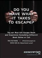 The live action Escape games