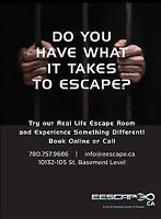 The live action Escape games]]]