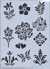 Plastic Flower Stencil