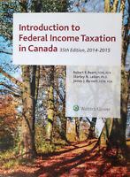 Introduction to Federal Income Taxation in Canada