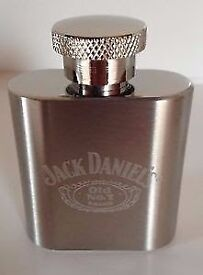 JACK DANIELS 1oz HIP FLASK BNIB