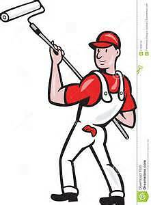 """Does Your House Need Painting  ?  """"Skilled Painter available"""" ."""