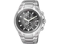 CITIZEN SUPER TITANIUM ECO WATCH - BOXED : FATHERS DAY.