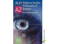 AQA Religious Studies Philosophy of Religion text book A2 (CAN POST) (Good condition)