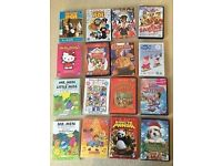 Children's DVDs X 16 Peppa Pig Postman Pat etc