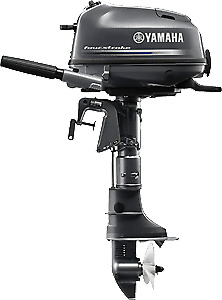 2.5, 4 and 6HP Yamaha 4 Stroke Outboards