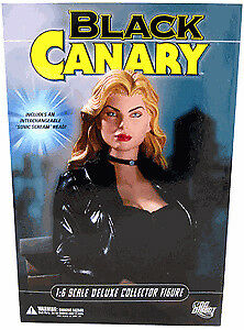 BLACK CANARY 13 inch Deluxe figure $30 new