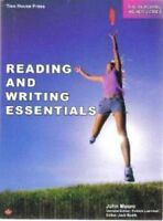 Reading and writing essentials workbook for grade 7 and 8 $10