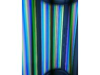 Sunbeds 2X Hapro Luxura X5 Sunbeds & 2X Tornado Vertical Units. Both fitted with rainbow tubes