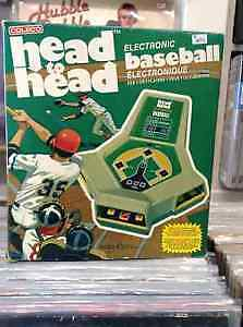Coleco Head to Head Electronic Baseball  Collector's Item !!!