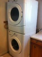 Amana Tandem / Kenmore front load washer and dryer