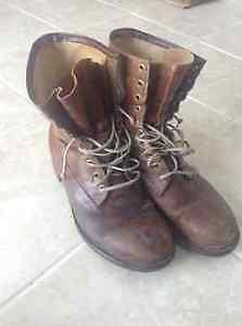 Steel Toe Workboots, Men's Size 11