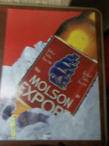 Generic Molson Export Beer Sign 1999 Windsor Region Ontario image 1