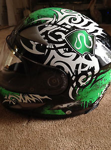 NFX Motorcycle Helmet, Medium