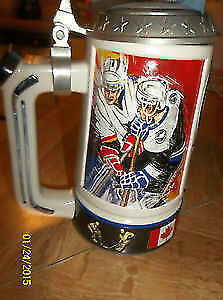 1998 Beer Stein Tampa Bay Lightning NHL Bud Light Windsor Region Ontario image 2