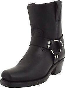 Women's Frye Boots - Cowboy, Black, Harness, Riding   eBay