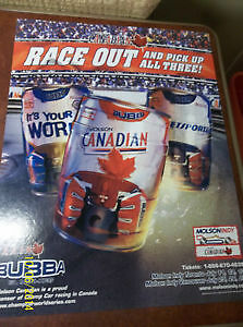 June 2003, Molson Indy Bubba Cans with Signage