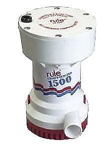 Rule 51S Bilge Pump 1500GPH 12V Automatic NIB