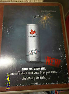 2004 Canadian Cold Shots Sign