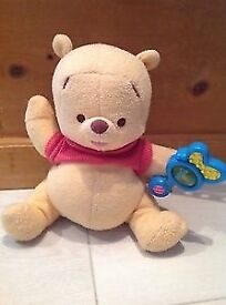 Pooh bear Shake &Rattle £3