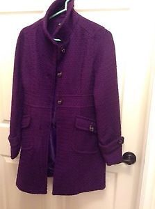 Womens Purple coat Size small new with tags