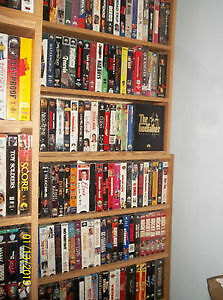 500+ VHS tapes