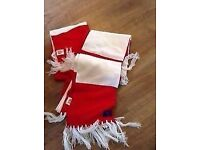 Authentic Brand New Arsenal scarf comes with the memebership pack