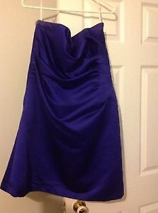 Eggplant Purple, A-Line Dress, Approx Dress Size 12