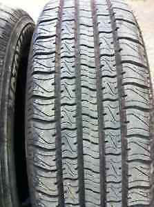 4 Tires on rims - Motomaster SE2 All Season 205 65R15