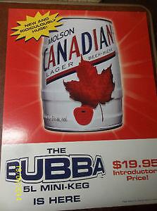 June 2002, Molson Canadian Bubba Can
