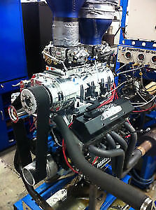 Small Block Chevy 400 Blower Engine for Sale