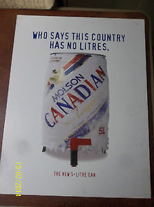 1994 Old 5Lt Can Signage from Molson