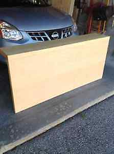 Queen size IKEA Malm headboard with ledge