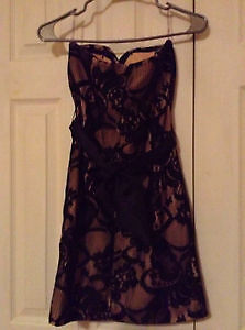 Lace black and light pink dress for sale NEVER BEEN WORN, NEW London Ontario image 3