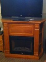 large electric fireplace 54x16