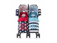 Cosatto supa dupa twin buggy