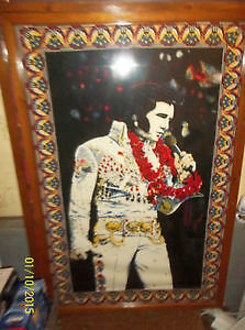 Elvis Presley Aloha Picture, Oak Framed... Windsor Region Ontario image 1