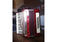 Welsmeister 48 bass accordion