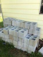 Wanted: Cinder blocks or bricks