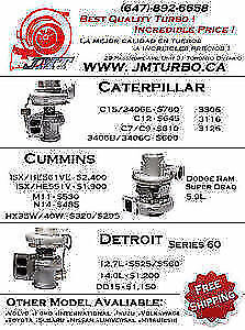 JM turboTurbocharger in brand new condition, High Quality
