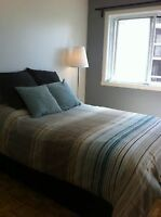 Beautiful fully furnished 5 mins to Concordia +h/hw, hydro, AC