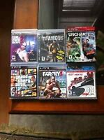 PS3 Games for sale GTA 5- Far Cry -Need for Speed Most wanted