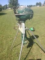 5hp Johnson outboard motor