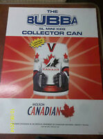 2002 Team Canada Bubba Cans with Signage